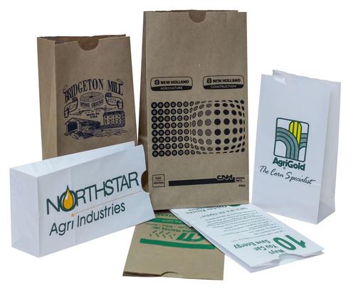 Paper food pharmacy bags