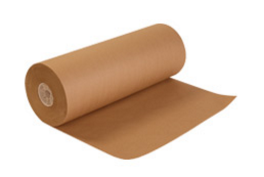 Natural kraft wrapping paper warehouse shipping dunnage void fill