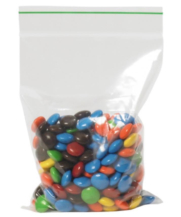 Biodegradable reclosable zipper