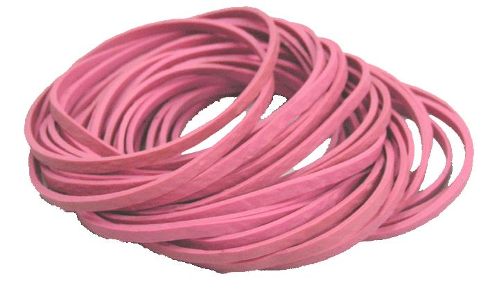 pink-antistatic-rubber-band