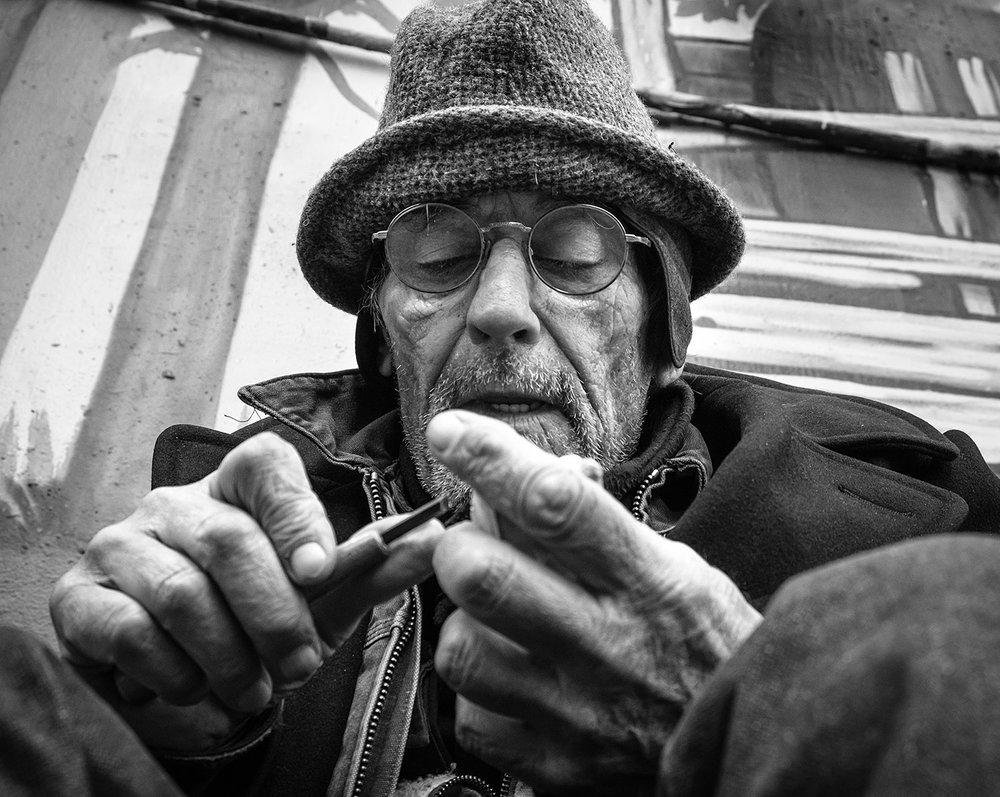 George - street carver NYC
