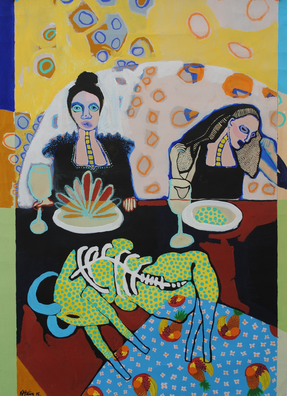 Oaxaca (at the dinner table)