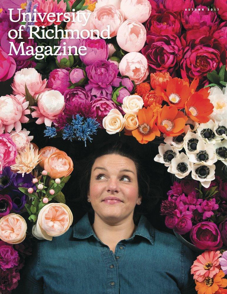 UR Magazine Cover Paper Rose Co