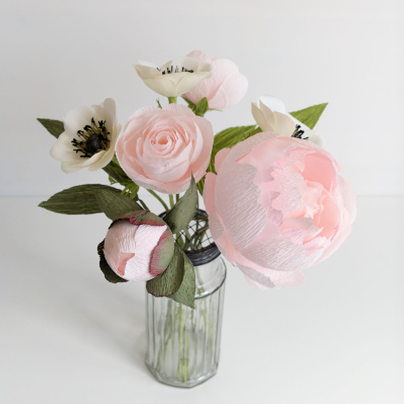 PaperRoseCo Perennial Update Peony Mix