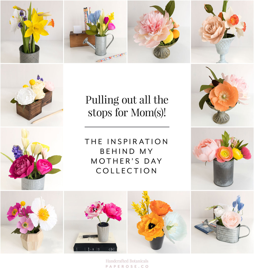 Paper Rose Co Mother's Day Collection 2018