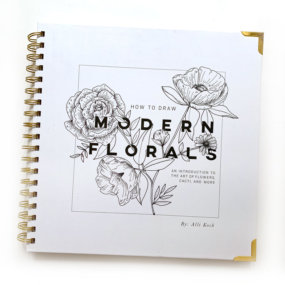 Modern Florals  by Alli Koch : despite my years of study in art and design, and love of all things botanical, I really can't draw to save my life. This book goes step-by-step to show you how to draw lots of different types of flowers, and I find it a fun way to unwind.