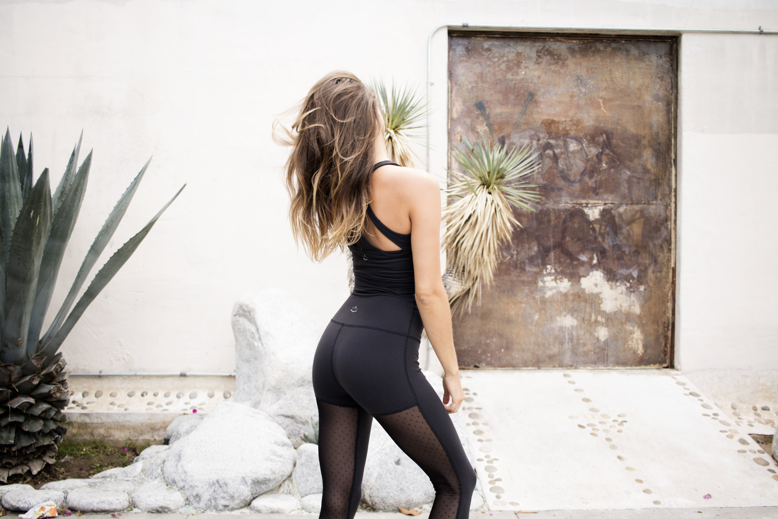 a92625102cc2b Beyond Yoga - Polka Dot Mesh High Waist Legging — The Athleisurely Life