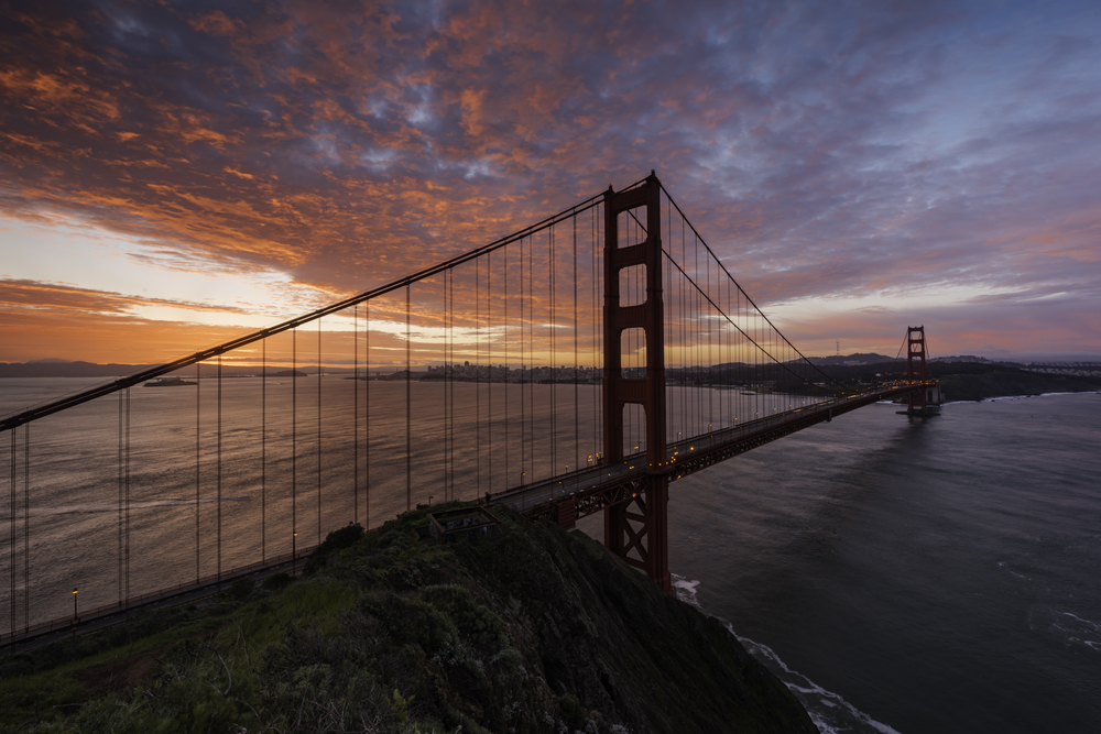 Sunrise at Golden Gate