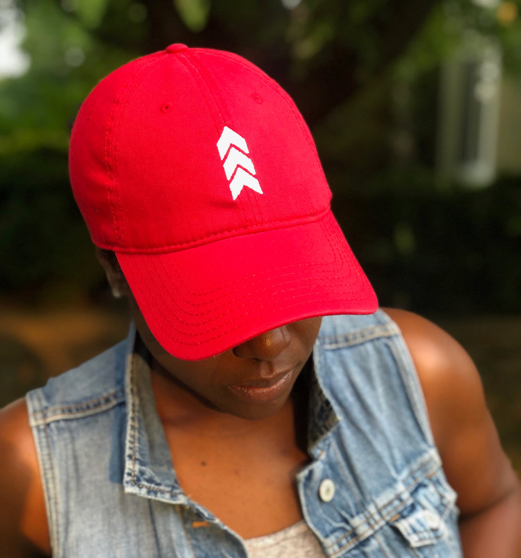 Red Dad Hat — Next Level Living Clothing Co. afb64a80829