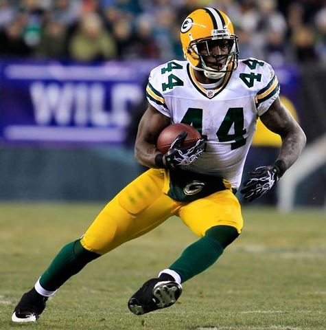 Jordan predicts James Starks will find the end zone for the first time this season.