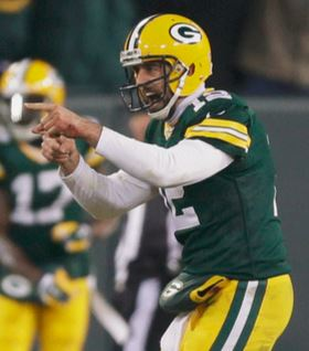 Aaron Rodgers and the Green Bay air assault were too much for the strong Patriots secondary in Week 13