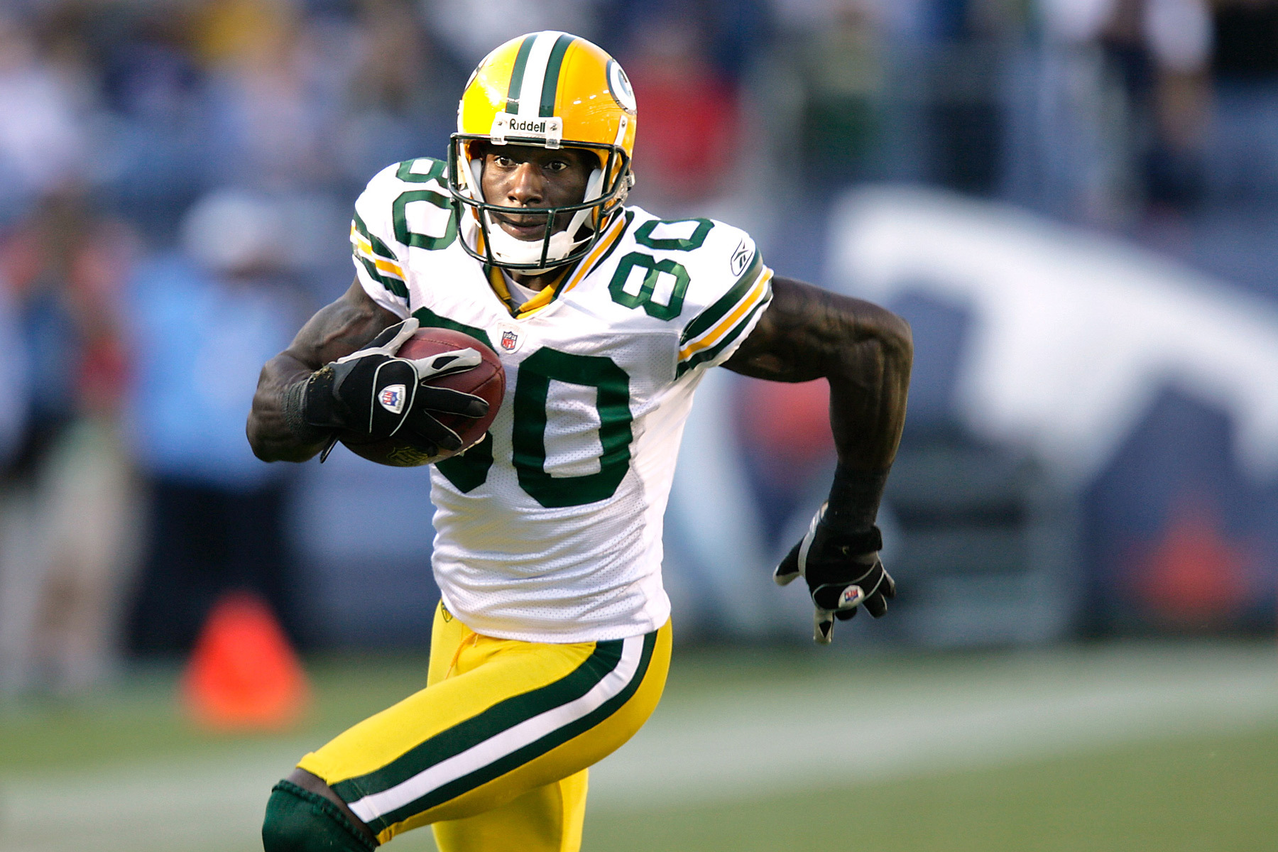 Before he danced with the stars, Donald Driver was a force in the Packers' last meeting with the Titans.