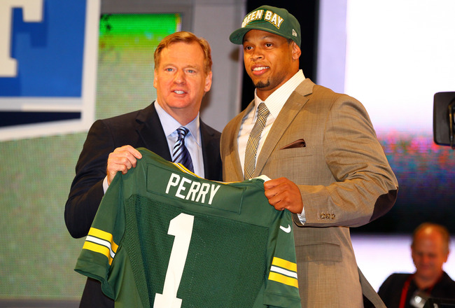 The Packers drafted Nick Perry in the first round last year. Who will it be this time around?