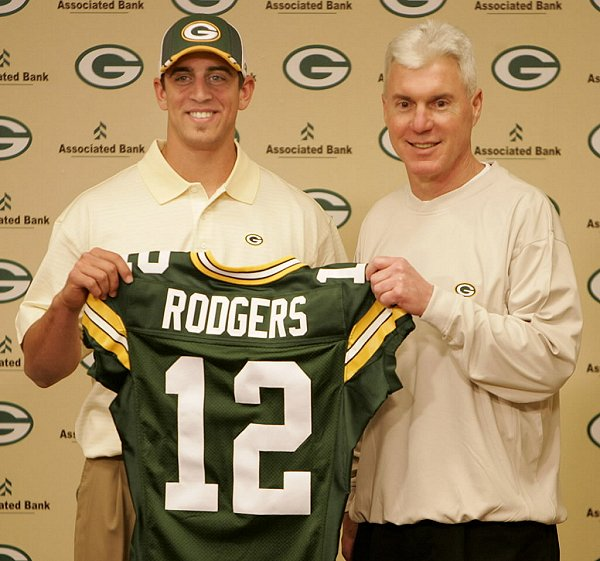 The Packers picked Aaron Rodgers in the first round in 2005. It seems to have worked out well.