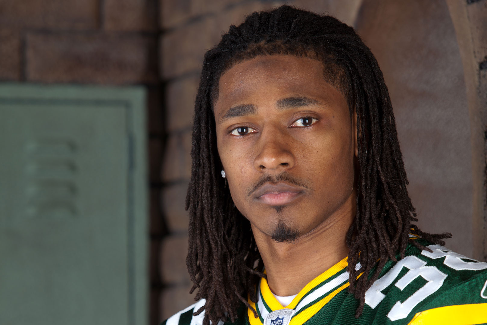 Seen here in an oddly prophetic senior picture, Tramon Williams was once a star in the secondary. Can he regain his 2010 form?