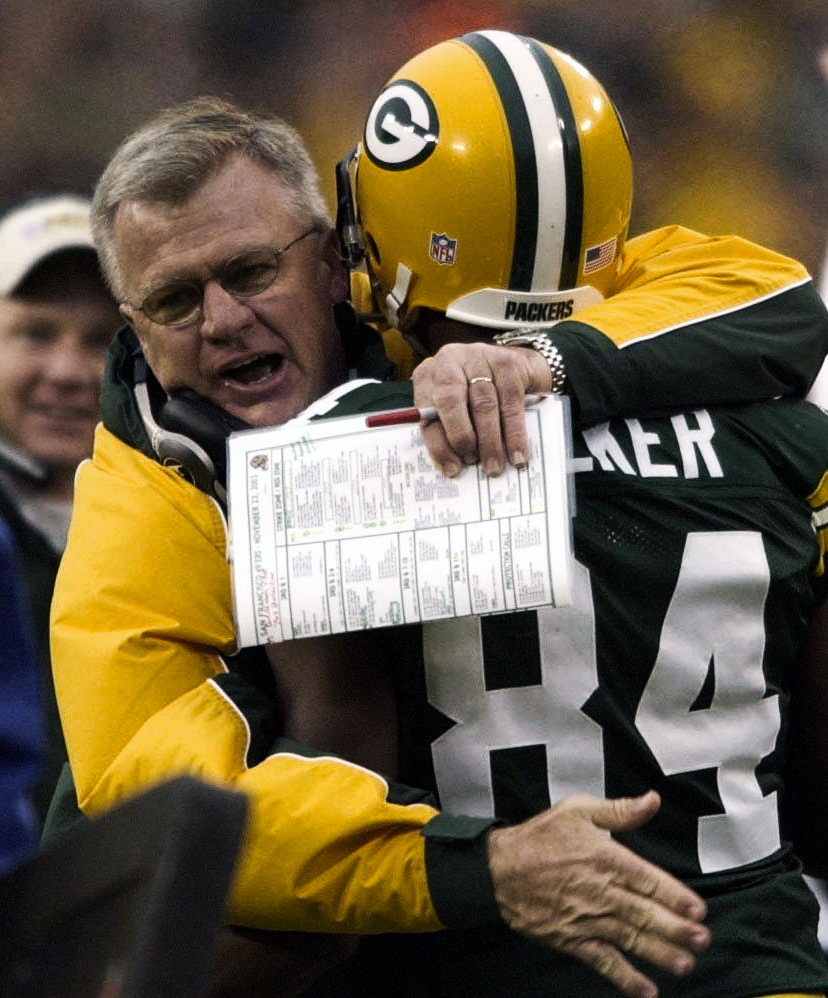 General manager and head coach Mike Sherman won three consecutive NFC North division championships in his six seasons with the Packers.