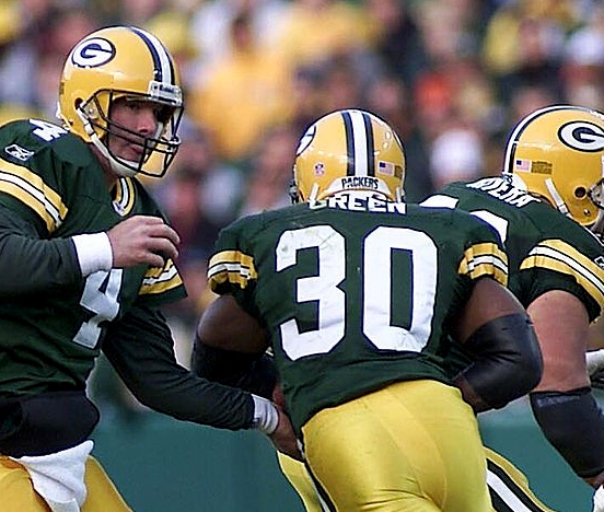 Ahman Green ran for a Packers record 1,883 yards in 2003.