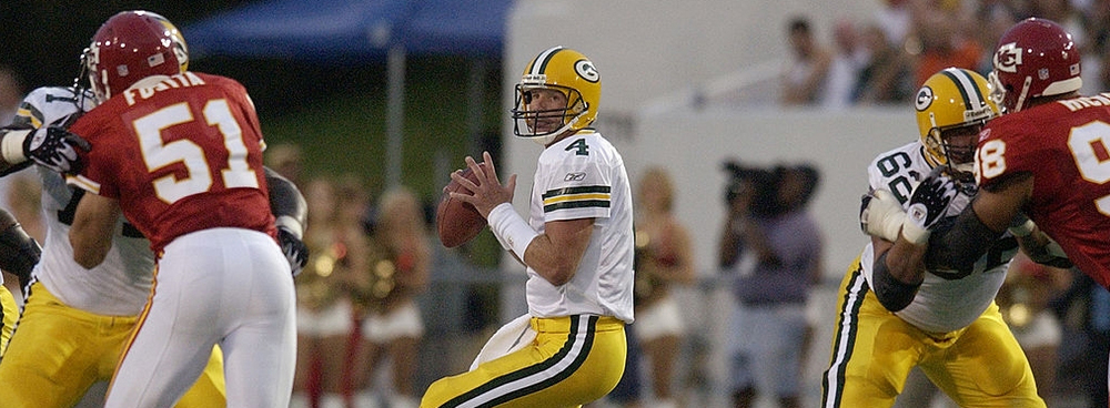 The Packers last appeared in the Hall of Fame Game in 2003, when Favre and the Packers took on the Chiefs. Kansas City won 9-0 in a rain-shortened game.