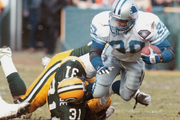 The Packers hounded Barry Sanders in the 1994 playoffs, holding the Hall of Famer to -1 yard rushing.