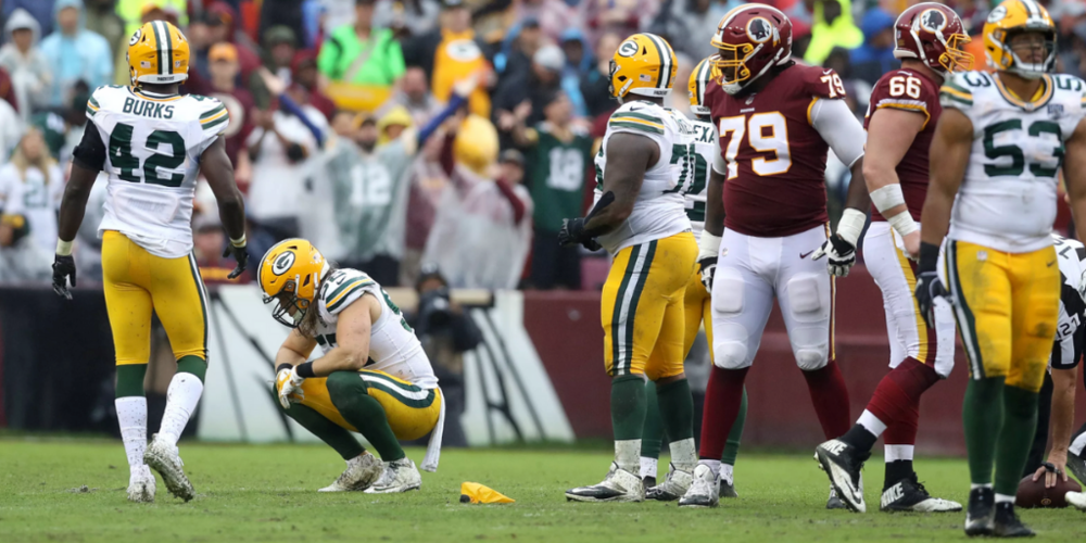 There were flags aplenty in the Packers' loss to the Washington Redskins, including another controversial call on Clay Matthews.