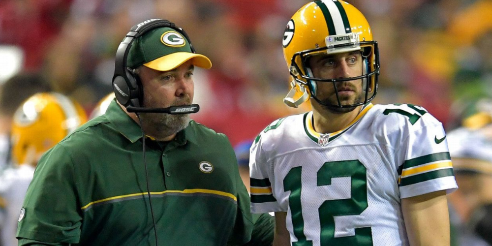 Mike McCarthy and Aaron Rodgers have struggled to get on the same page so far this season, but critics of the coach need to do better.