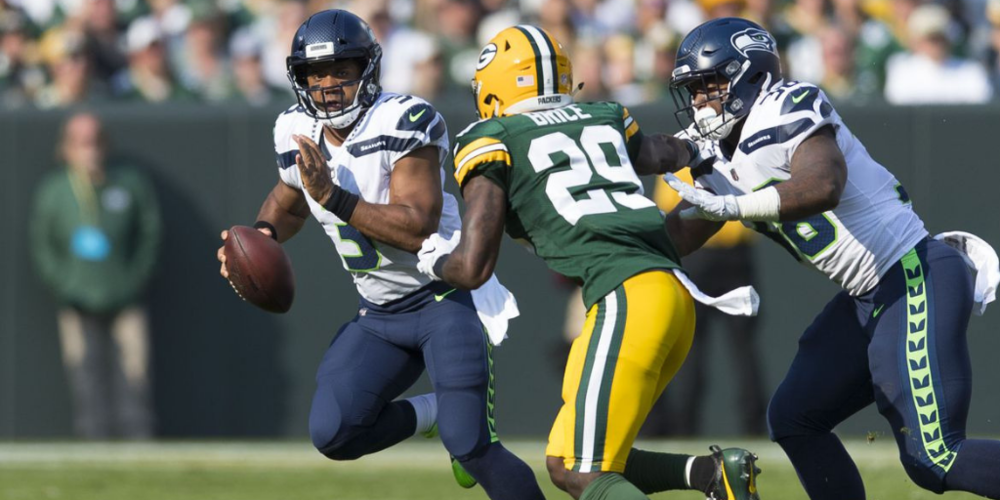In one of the last truly solid efforts of the Dom Capers era, the Packers bothered Russell Wilson all day long en route to a Week 1 win in 2017.