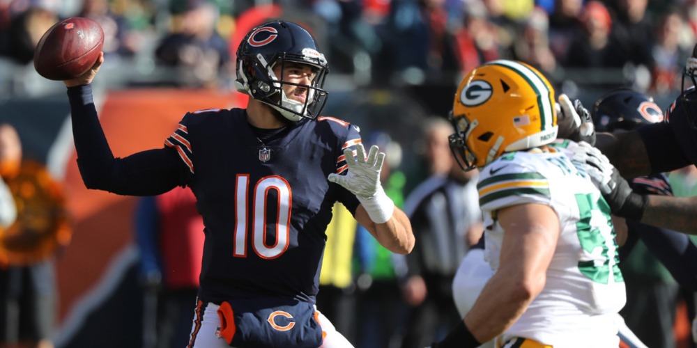 Mitchell Trubisky executed on Sunday. The Packers did not.