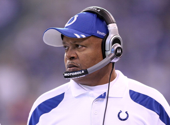 Jim Caldwell  won his first 14 games as a head coach and took the Colts to the Super Bowl in 2009.
