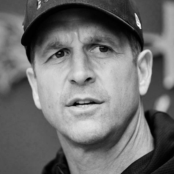 john harbaugh - ravens head coach
