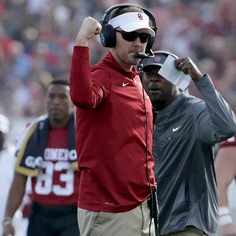 Oklahoma head coach  Lincoln Riley  will likely not be headed to the NFL in 2019.