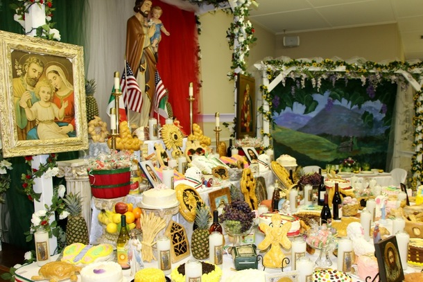 St. Joseph's Alter for 2015