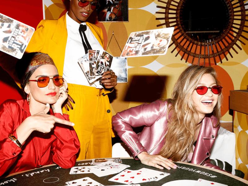 Gigi Hadid+ Vogue -