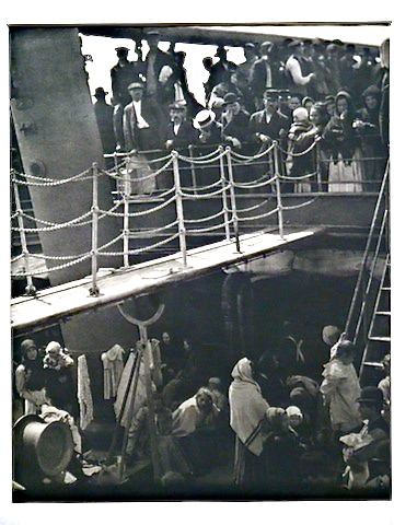 Alfred Steiglitz,   The Steerage  , 1915 large-format photogravure, Museum Purchase, Margaret Simonds Sinon Collection Fund
