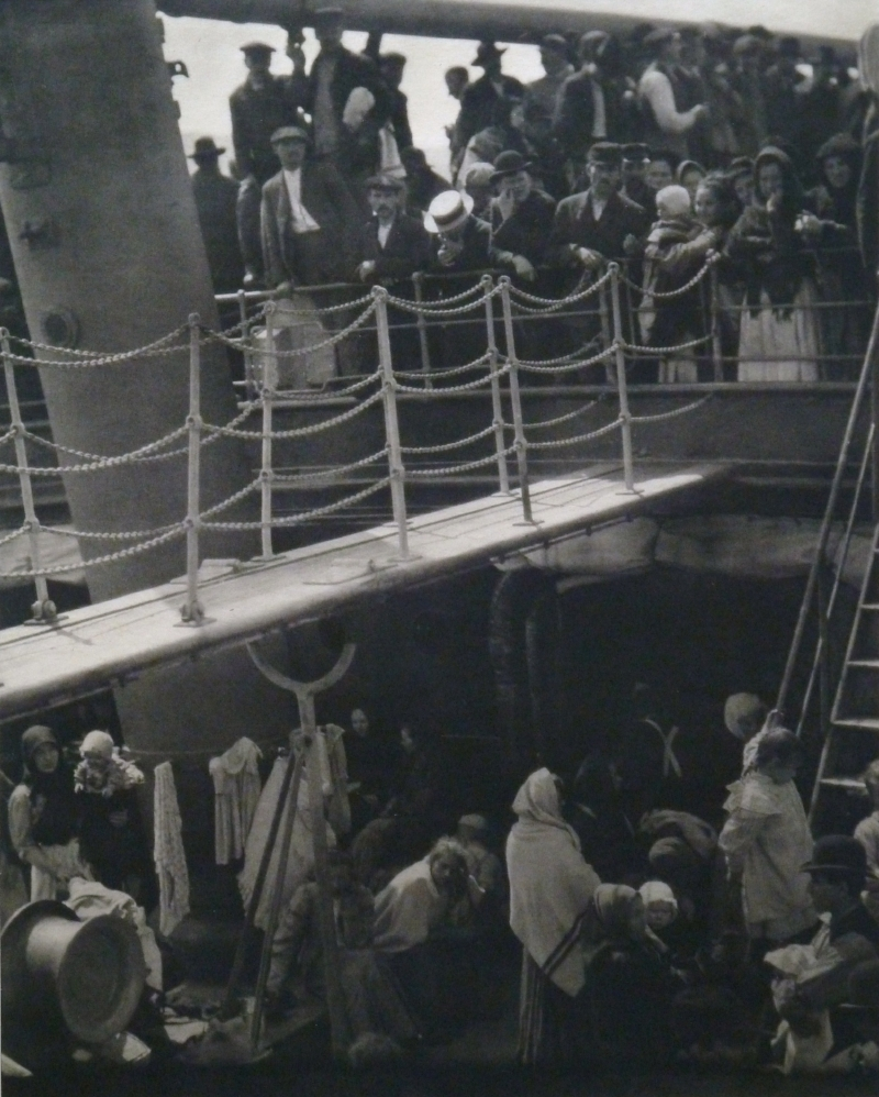Alfred Stiglitz; The Steerage, 1915; Photogravure on Tissue; Margaret Simonds Sinon Collection Fund; 2011.34