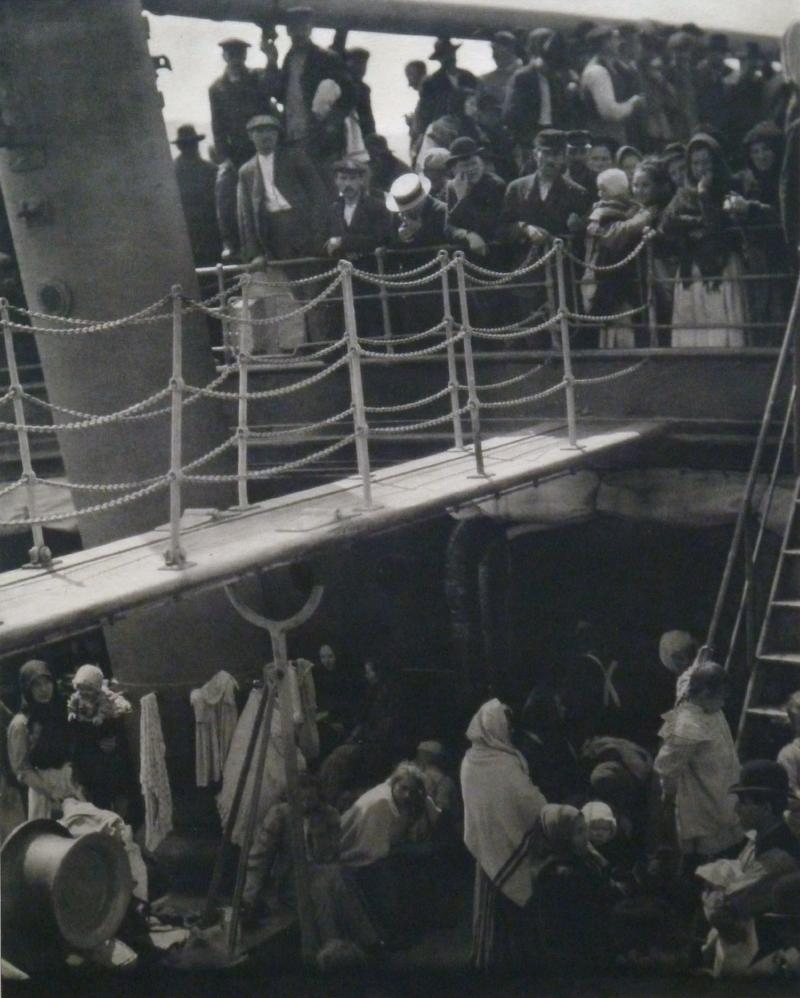 Alfred Stiglitz; The Steerage, 1915; Photogravure on Tissue; Margaret Simonds Sinon Collection Fund; 2011.34