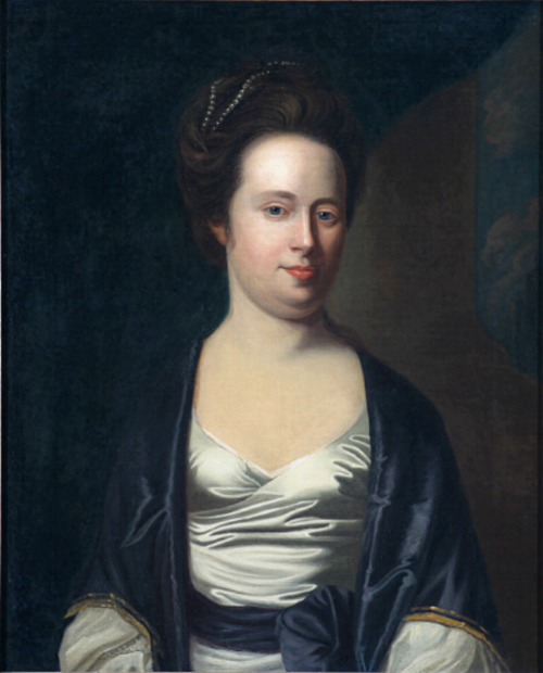 John Singleton Copley; Mrs. Charles McEvers, 1771; Oil on Canvas; Director's Fund Purchase in honor of the extraordinary service of Ronald M. Ansin, Museum Trustee 1971-2003, voted by his fellow trustees December 2003; 2003.7
