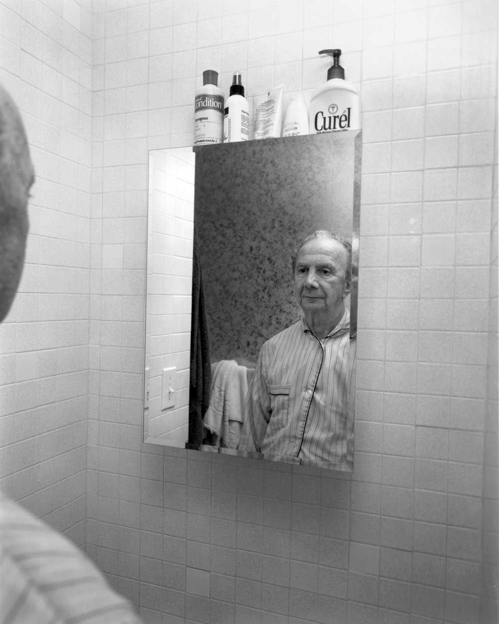 Stephen DiRado,  Gene, November 2, 2003, Marlborough, MA  from the series  With Dad , 2003, gelatin silver print, Sinon Collection Fund, Clementi Family Fund, Robert and Elaine Smith Photography Fund, 2015.19