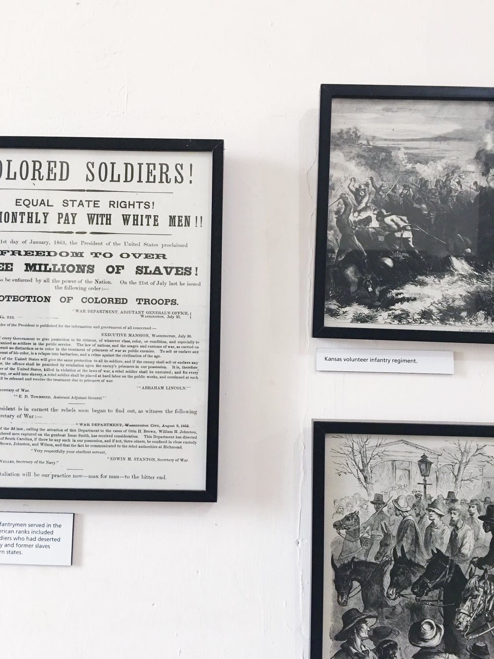 Buffalo Soldier Exhibition at Fort Point National Site