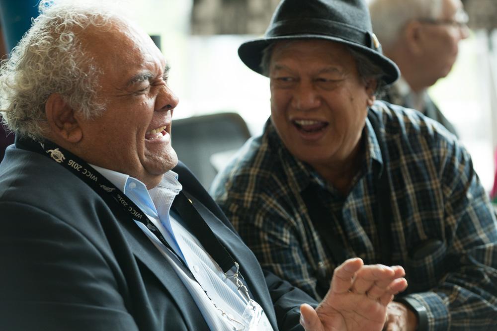 Tom Calma and Uncle Mick Adams