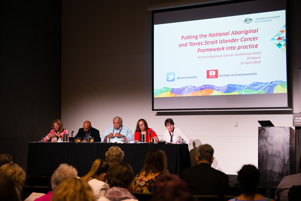 Panel from the Lunchtime Seminar hosted by Cancer Australia