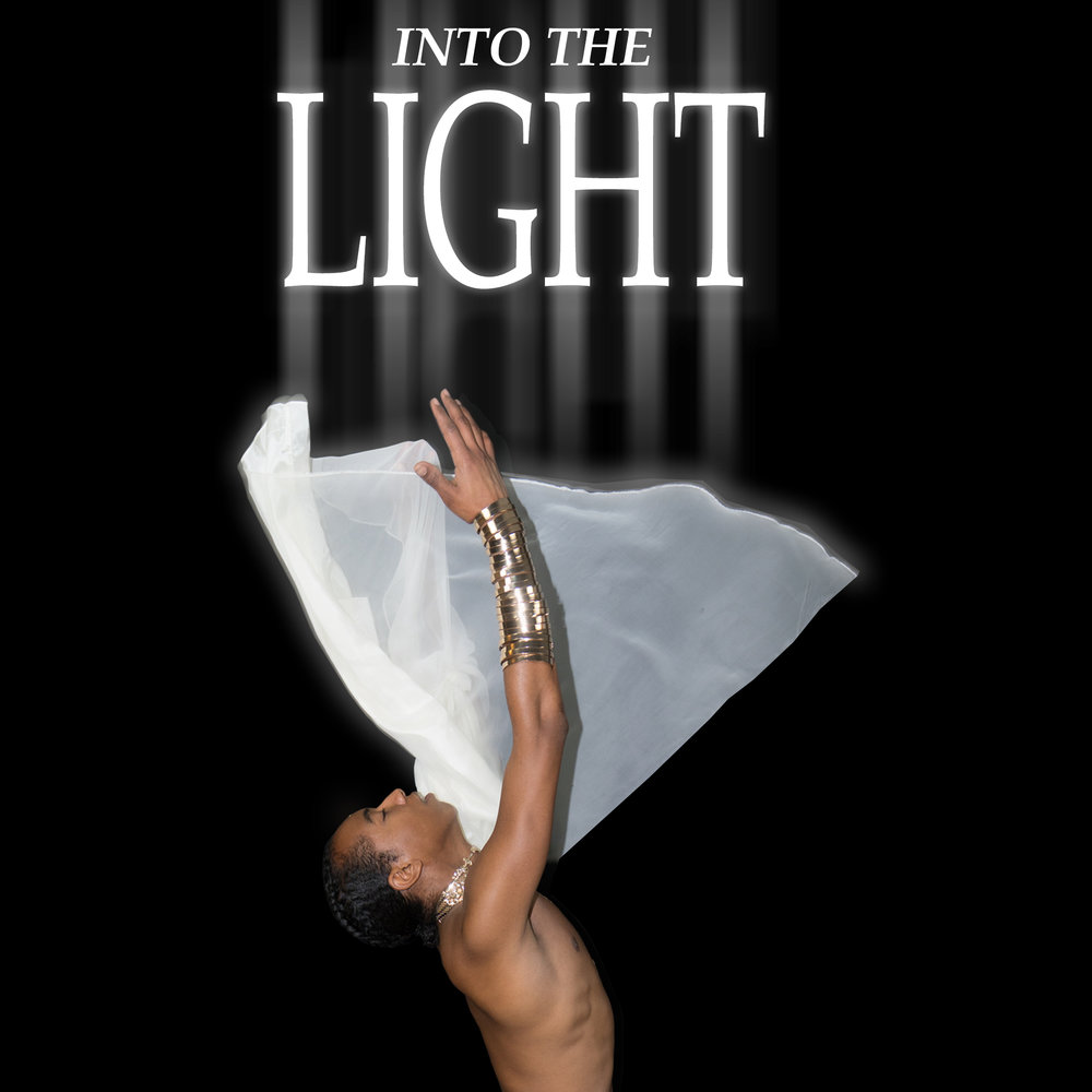 'Into the light' is a spiritual journey within myself. It is the moment of awakening.