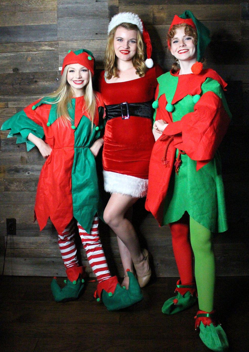 Elves & Santa Girl