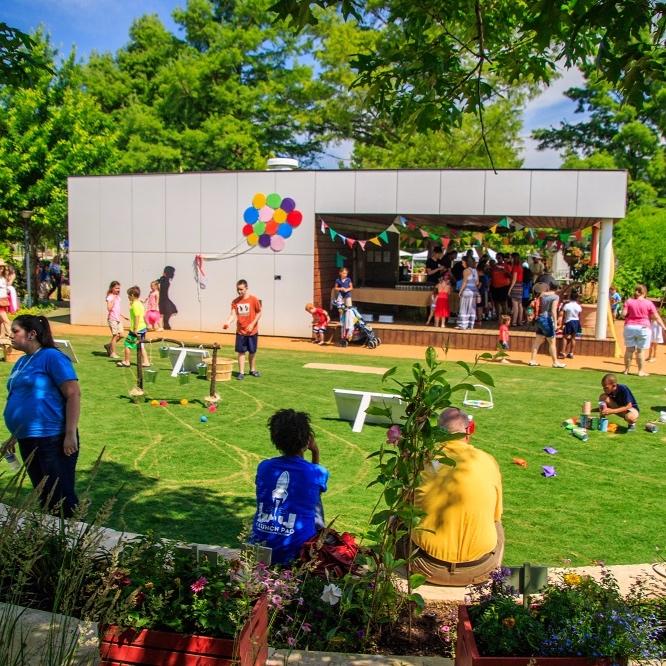 Myriad Gardens Children's Pavilion