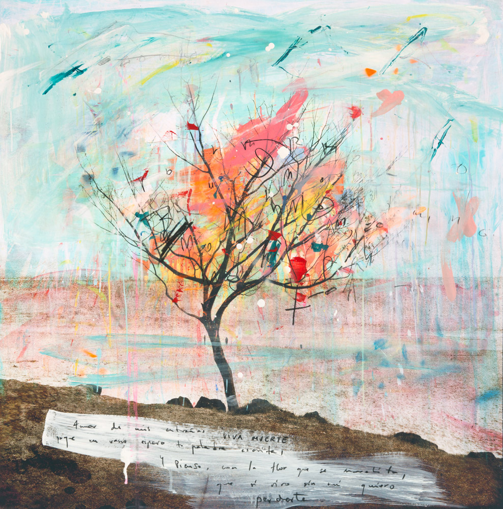 - Viva MuerteArchival pigment print on fine art paper, mounted on birch panel, resin coated.90cm x 90cm