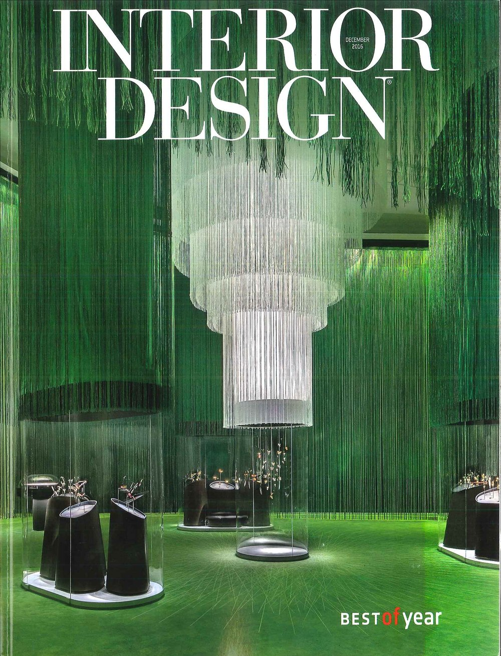 US Interior Design (Best of year) / Dec. 2016