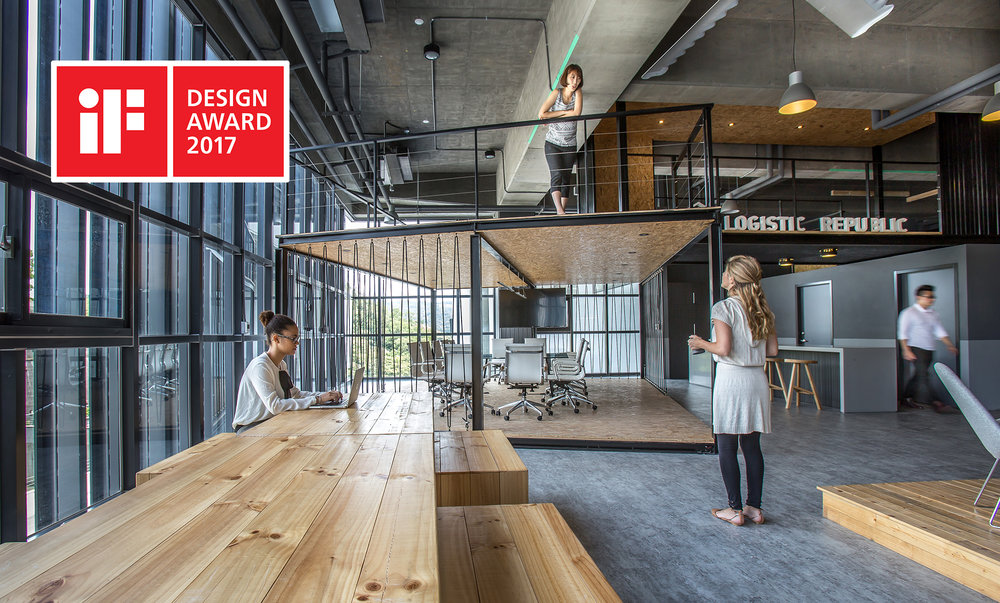iF Design Award, Office, Winner- Logistic Republic Office