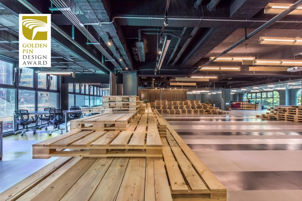 Golden Pin Design Award, Space, Winner- Kaohsiung Co-Working Space