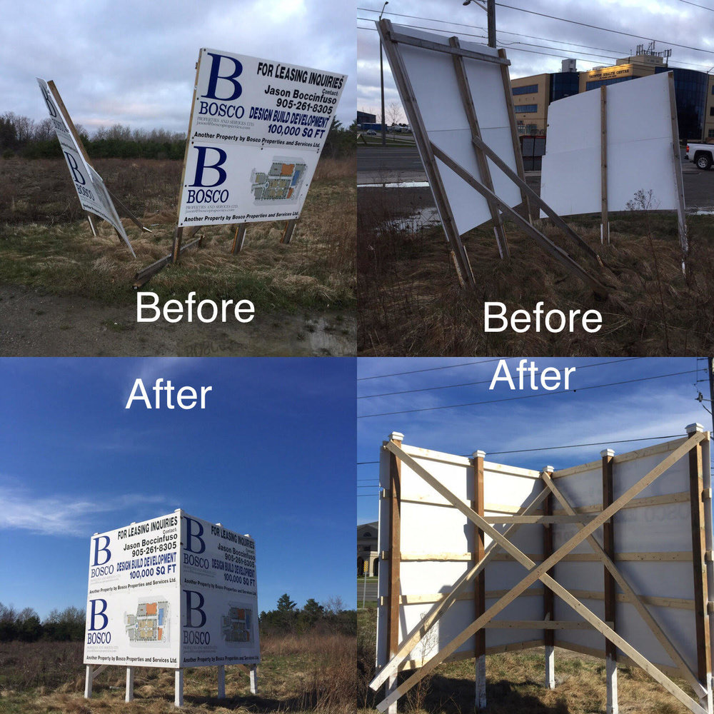 Commercial Sign Installation