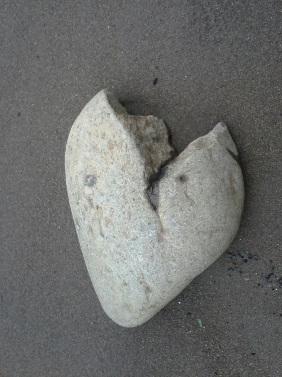 rock heart I took