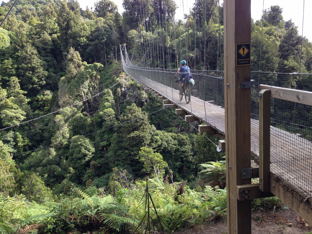 NZ has mastered the art of the wire bridge